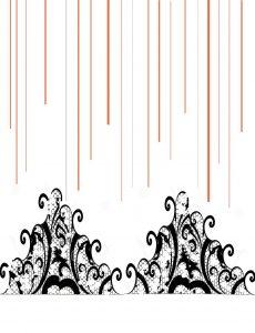 happy pumpkin day ~ orange shimmer paper delight - 2 Grid lines for lace 2 black web 230x300 - Happy Pumpkin Day ~ Orange Shimmer Paper Delight