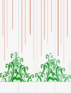 happy pumpkin day ~ orange shimmer paper delight - 3 Grid lines for lace 2 green vines web 230x300 - Happy Pumpkin Day ~ Orange Shimmer Paper Delight