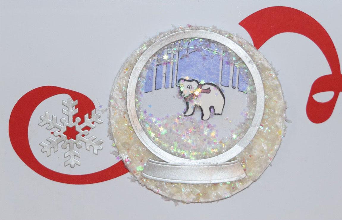 warm a heart with a polar bear card - 5 PaperPapersPolarBearCard - Warm A Heart With A Polar Bear Card