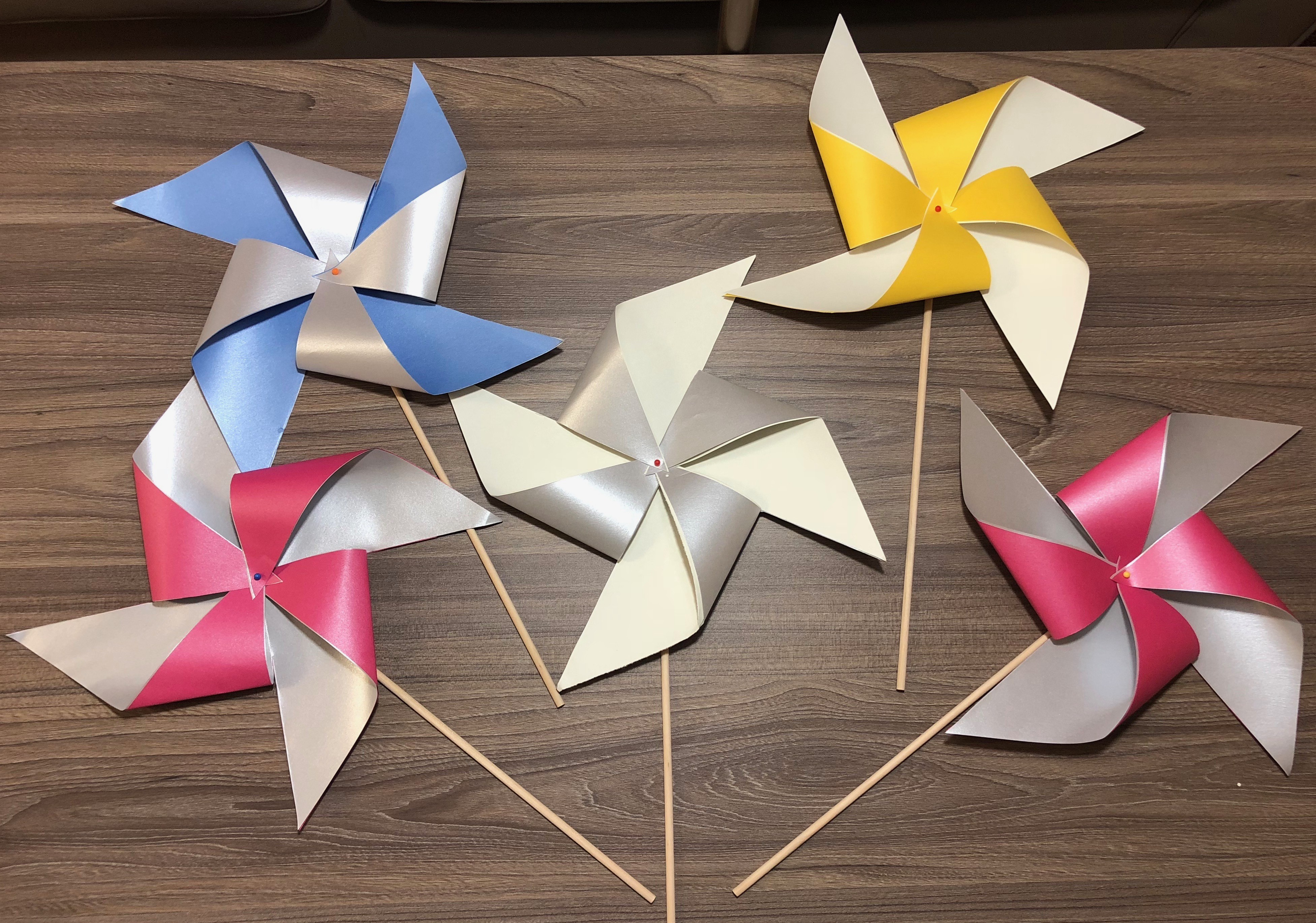 paper pinwheel This page of instructions will lead you through the steps to make your own pinwheel march is a great time to make pinwheels begin with a square of paper 2.