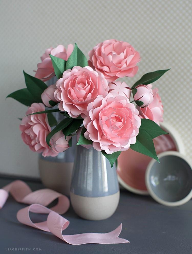 paper camellia - PP camellia 2 - Paper Camellia