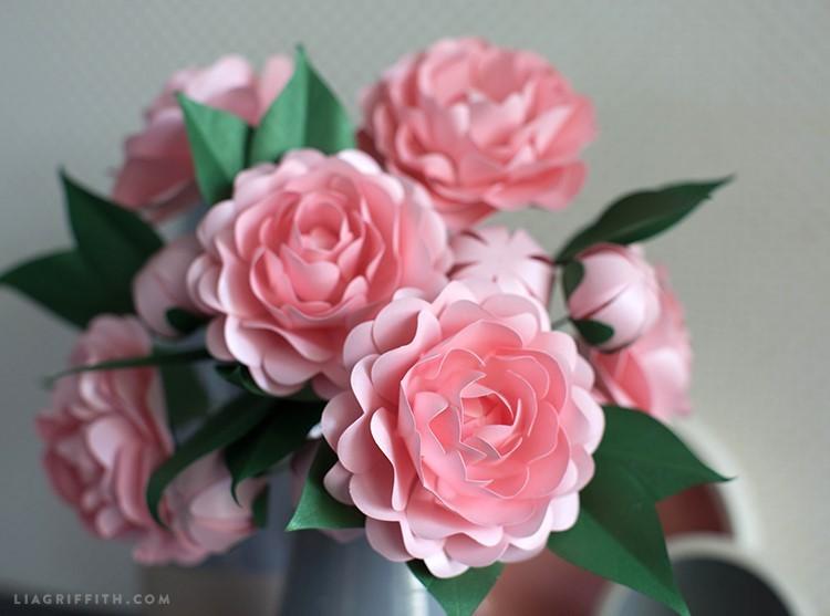 paper camellia - PP camellia 3 - Paper Camellia