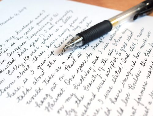 The Making of Your Handwriting