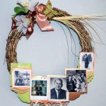 Creative Wreath Expressing the Love we have for our Family