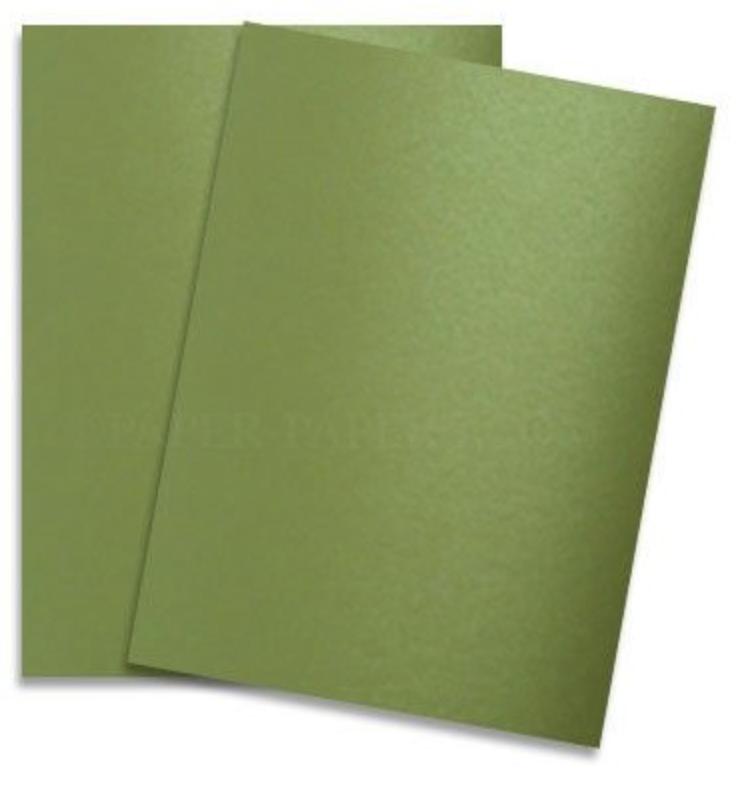 PaperPapersLimeSatin