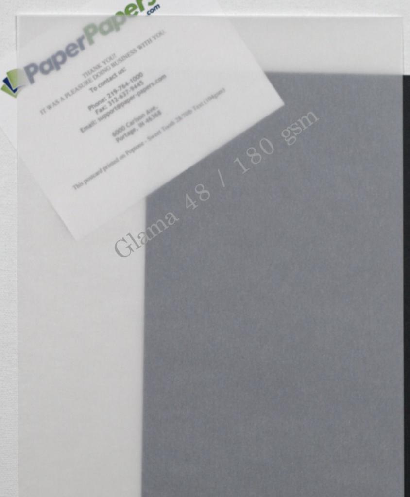 PaperPapersGlamaVellumClear