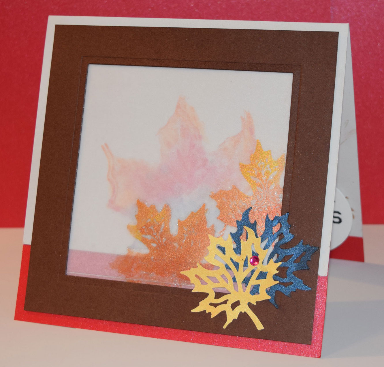 PaperPapersLeafyAutumnCard01