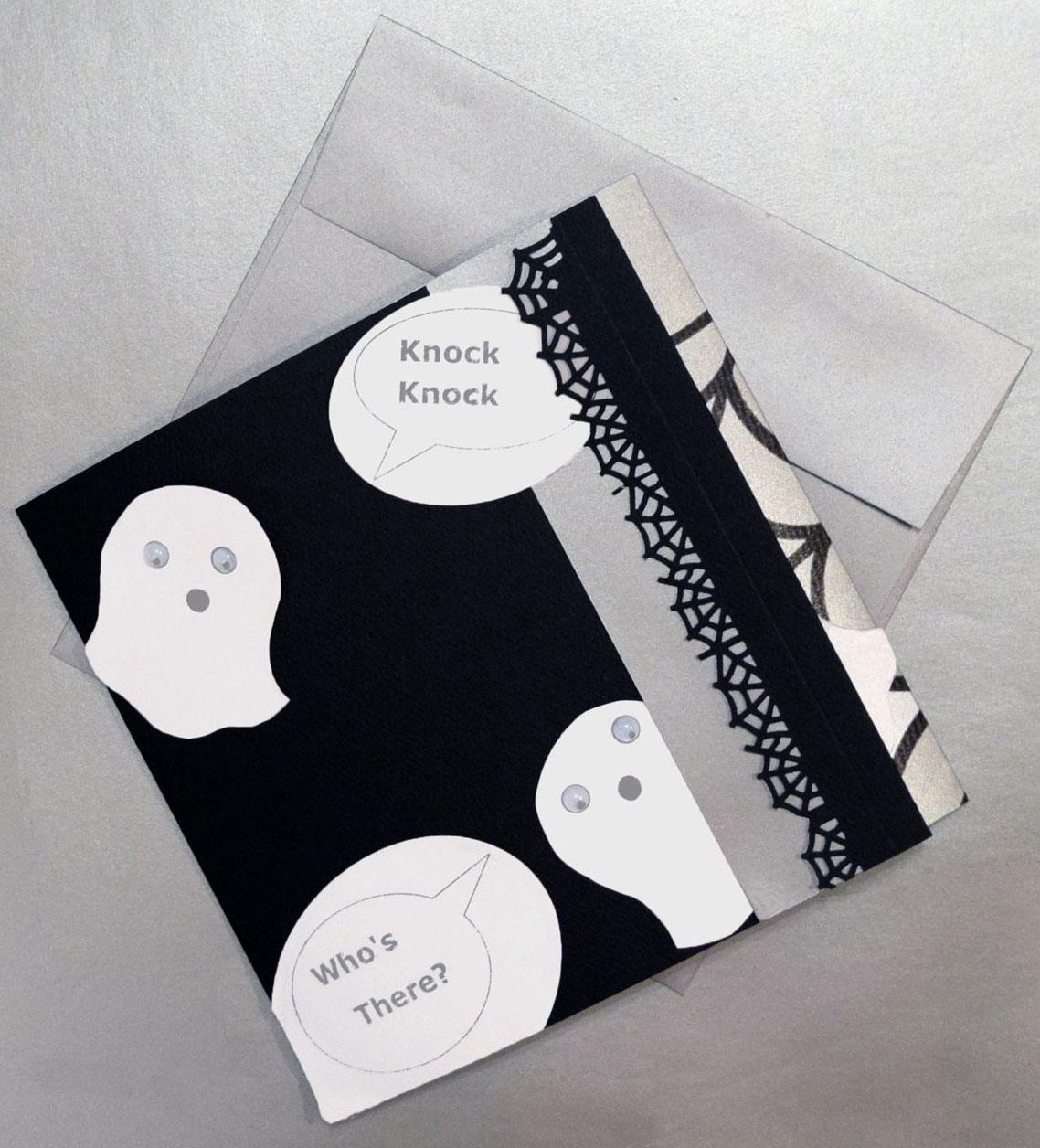 GhostlyFunnyCard01 ghostly funny paper card - GhostlyFunnyCard01 - Ghostly Funny Paper Card
