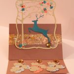 Fall Festive Reindeer Card