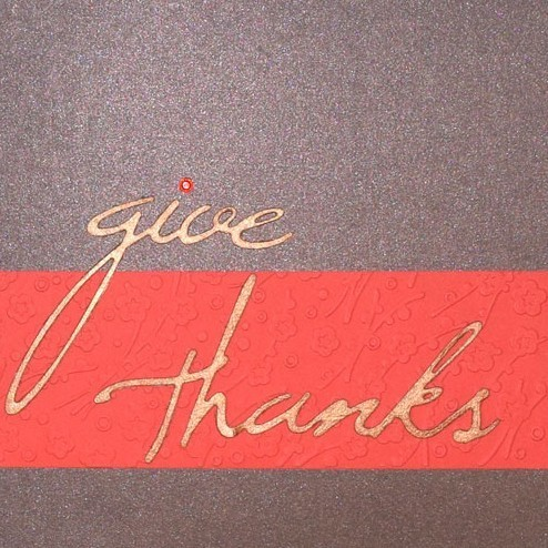PaperPapersGiveThanksCard09 give thanks card - PaperPapersGiveThanksCard09 - Give Thanks Card