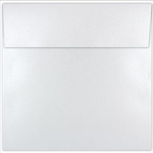 Shine Pearl White 6.5 Square Envelope