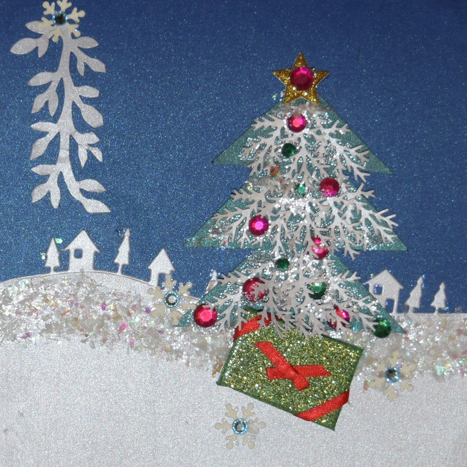 PaperPapersWinterWonderlandCard01 winter wonderland christmas card - PaperPapersWinterWonderlandCard01 - Winter Wonderland Christmas Card