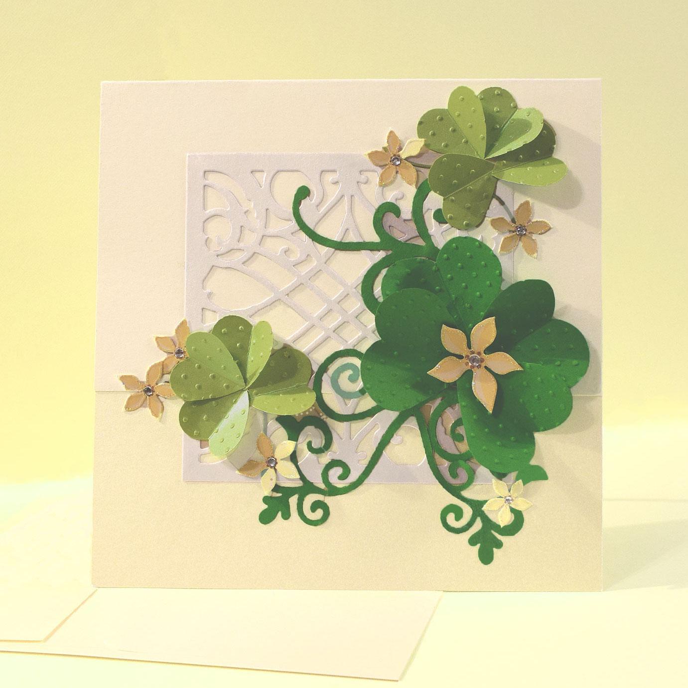 st. patrick's day card - PaperPapersStPatricksDayCard10 - St. Patrick's Day Card