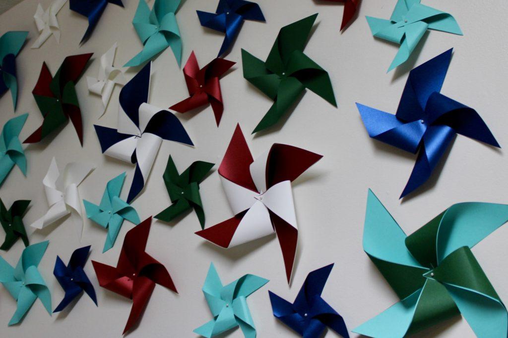 paper pinwheel wall design - fullsizeoutput 267 1024x683 - Paper Pinwheel Wall Design