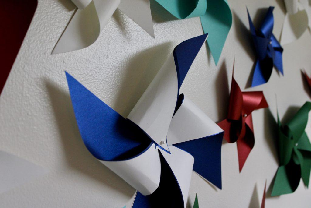 paper pinwheel wall design - fullsizeoutput 275 1024x683 - Paper Pinwheel Wall Design