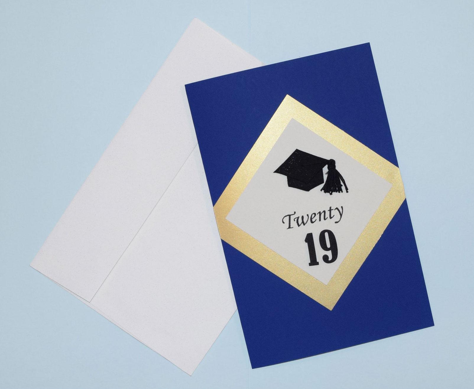 graduation celebration card - PaperPapersGraduationCelebrationCard01 - Graduation Celebration Card