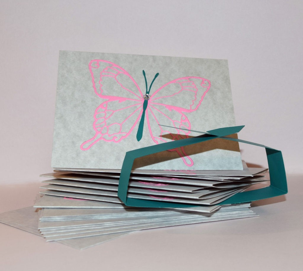 paper butterfly notecards - PaperPapersButterflyNotecards04 1024x915 - Paper Butterfly Notecards