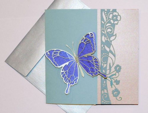 PaperPapersButterflyPopupPaperCard01