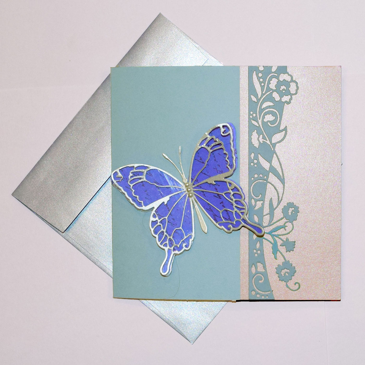 PaperPapersButterflyPopupPaperCard01  - PaperPapersButterflyPopupPaperCard01 - Butterfly Paper Popup Card