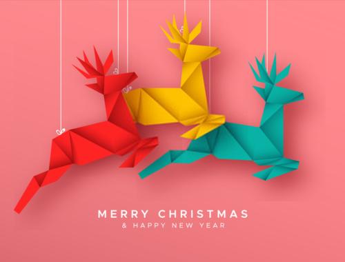 paper christmas decoration