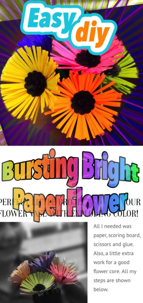 Bright paper Flowers