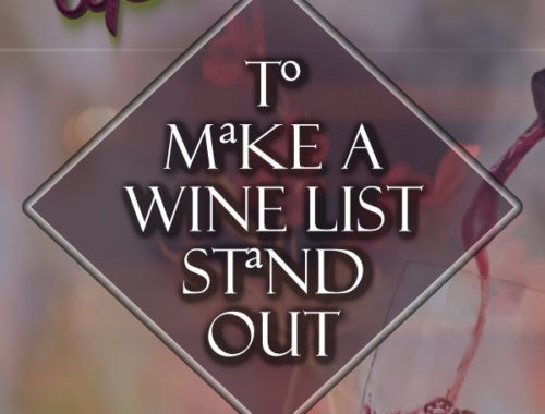 Design Tips for a Perfect Wine List