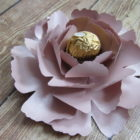 PAPER FLOWER PEONY Rose Gold – FULL TUTORIAL