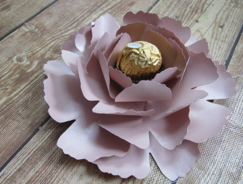 Paper Peony Rose Gold