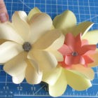 Easy paper flower technique for everyone – Full tutorial
