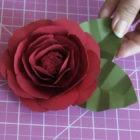 PAPER FLOWER INSPIRED by Floribunda Rose – FULL TUTORIAL