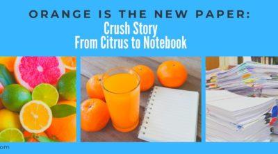 Citrus Crush Paper