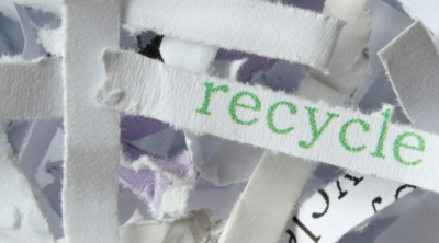 Recycled Paper and our Environment