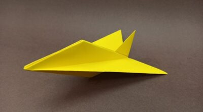How to make a Cool Paper Jet Plane / EASY origami airplane